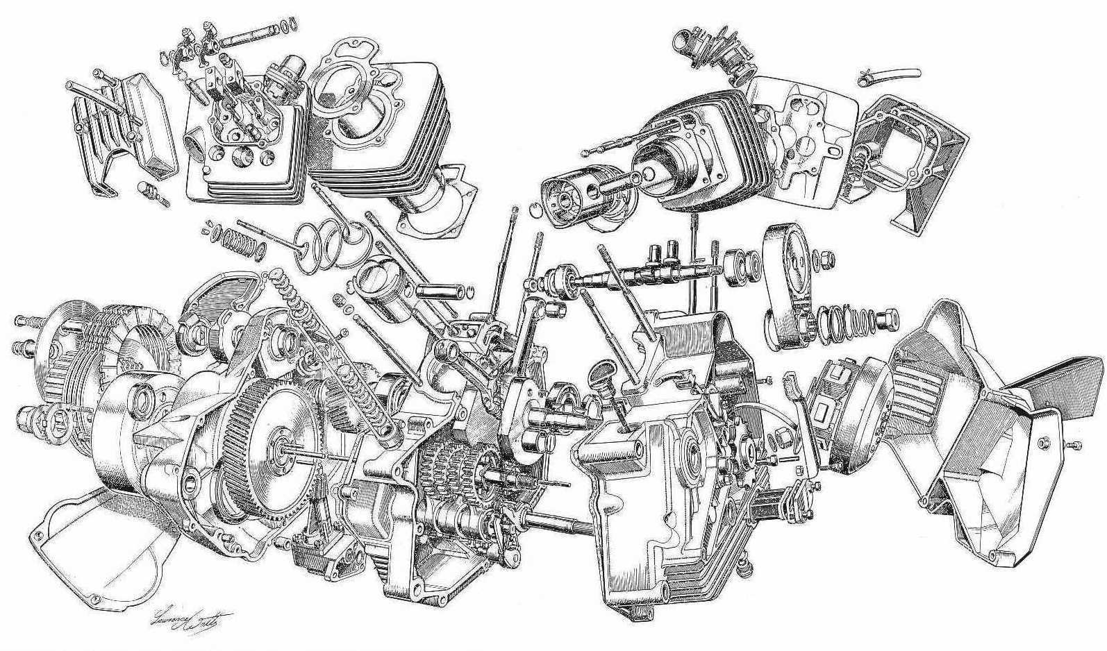 Harley Twin Cam Engine Diagram on 650 yamaha motorcycle wiring diagrams