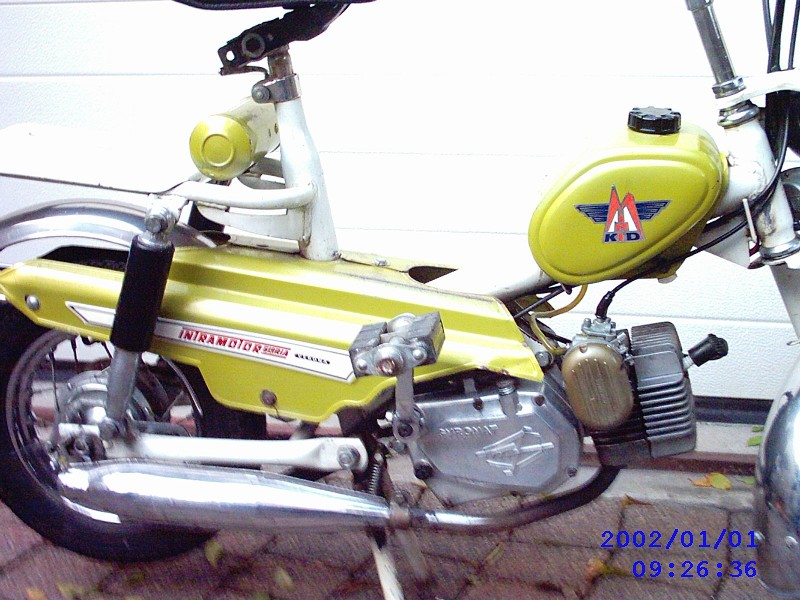 Moto Morini bromfietsen versus bromfietsen met een Morini