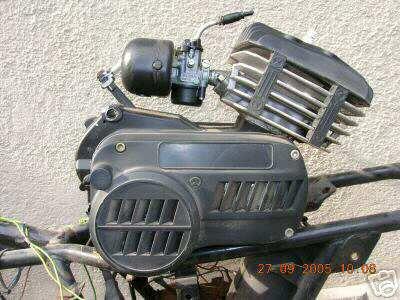 Mfm on Morini Moped Gyromat