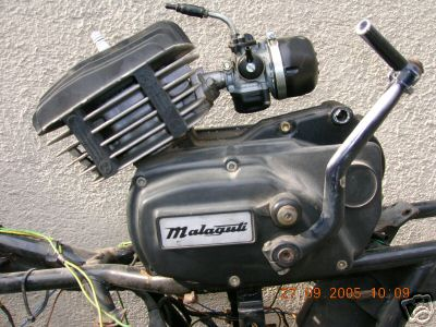 Mfm on Franco Morini 50cc Engine