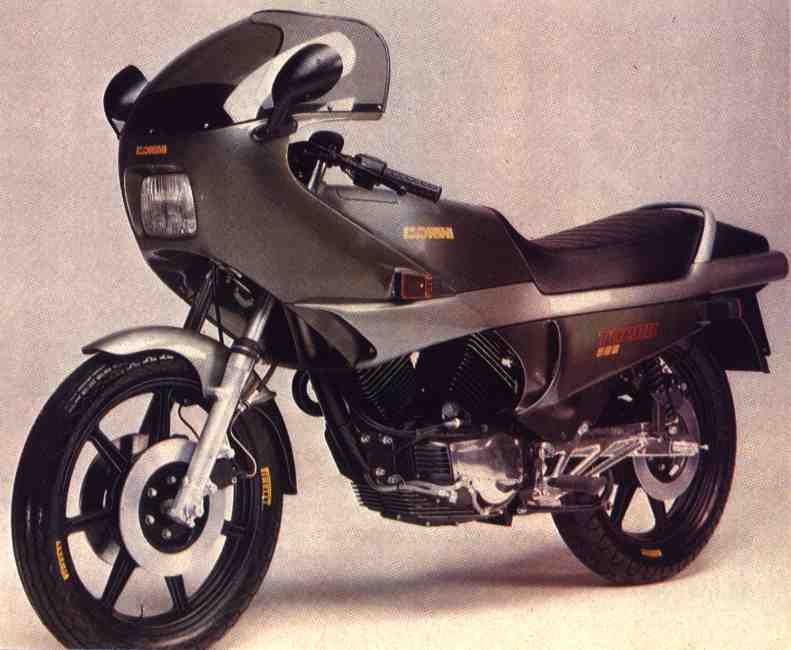 Moto Morini 500 Turbo Prototype